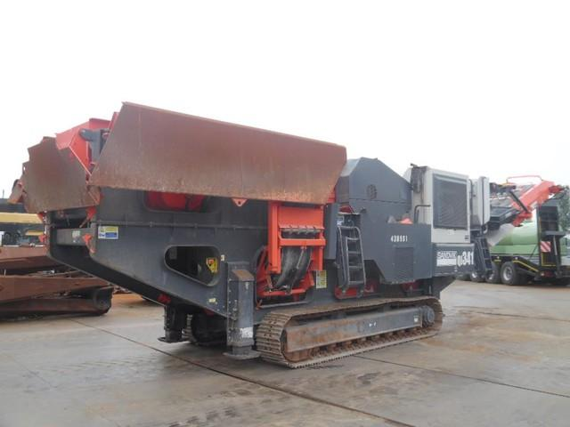 Sandvik QJ341 Crawler Jaw Crusher
