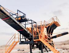 Fabo MJK-90 SERIES 200 TPH MOBILE JAW CRUSHER PLANT