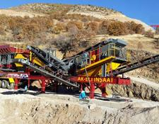Fabo MCK-60 MOBILE CRUSHING & SCREENING PLANT
