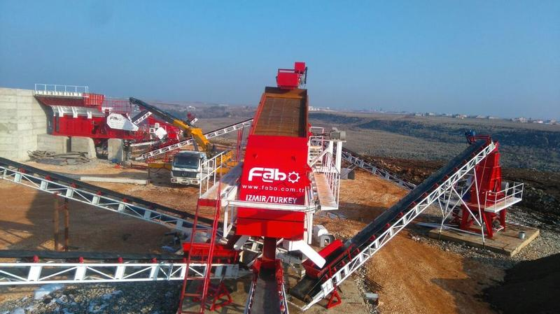 Fabo 2000 x 6000 mm VIBRATING SCREEN | 2-3-4 DECKS 200-350 TPH