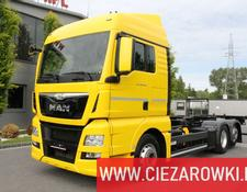 MAN TGX 26.440 E6 6x2 - RETARDER - LIFT AXLE - BDF CHASSIS - 2 BEDS