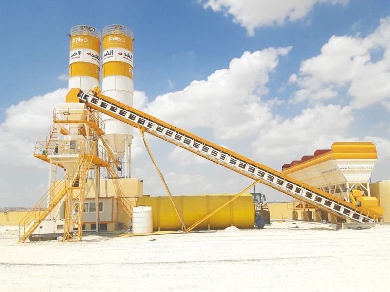 Fabo FIXED CONCRETE MIXING PLANT | HIGH QUALITY EQUIPMENT