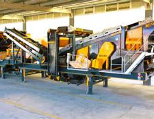 Fabo MVSI 900 MOBILE VERTICAL SHAFT IMPACT CRUSHING SCREENING PLANT