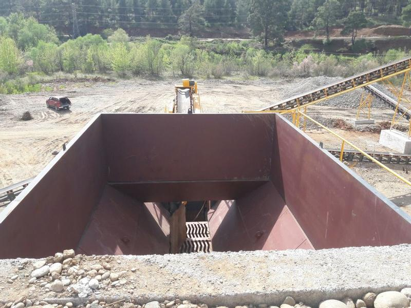 Fabo HIGH CAPACITY BUNKER WITH FEEDER | STONE CRUSHING PART