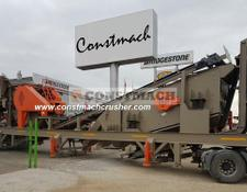 Constmach MOBILE JAW + CONE CRUSHER