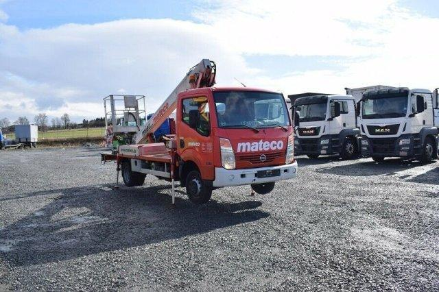 Nissan Cabstar 35.11 Multitel 160 Alu / TOP ZUSTAND