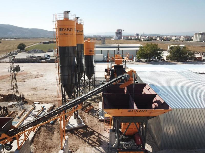 Fabo MOBILE CONCRETE MIXING PLANT | TURBOMIX 120