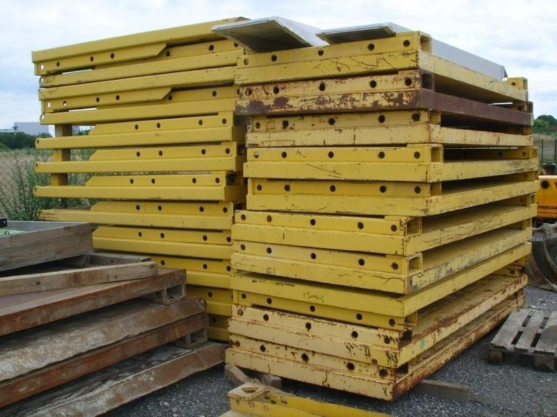 SBH 3 x Box JK 600 3000x2400 + Aufsatz / SBH Shoring Boxes JK 600 + Open Top Boxes