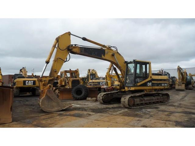 Caterpillar 322 BL (GOOD WORKING)