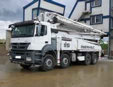 Mercedes-Benz 4140 8x4 Euro 5, 2016year Sermac 46m Concrete pump, 5RZ46, 150m3