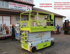 Iteco IT 12122 - 14 m technical inspection (jlg, genie, haulotte, imer