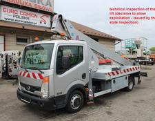 Nissan Cabstar 21m CMC PLA 210 technical inspection
