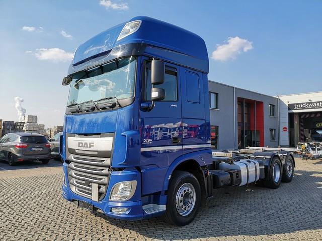 Daf XF 440 FAR 6x2 / 2 Tanks / Super Space Cab